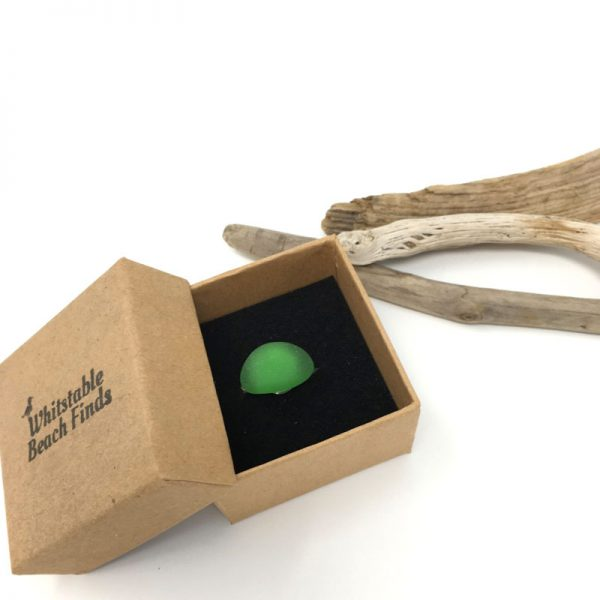 Seaglass Green Ring