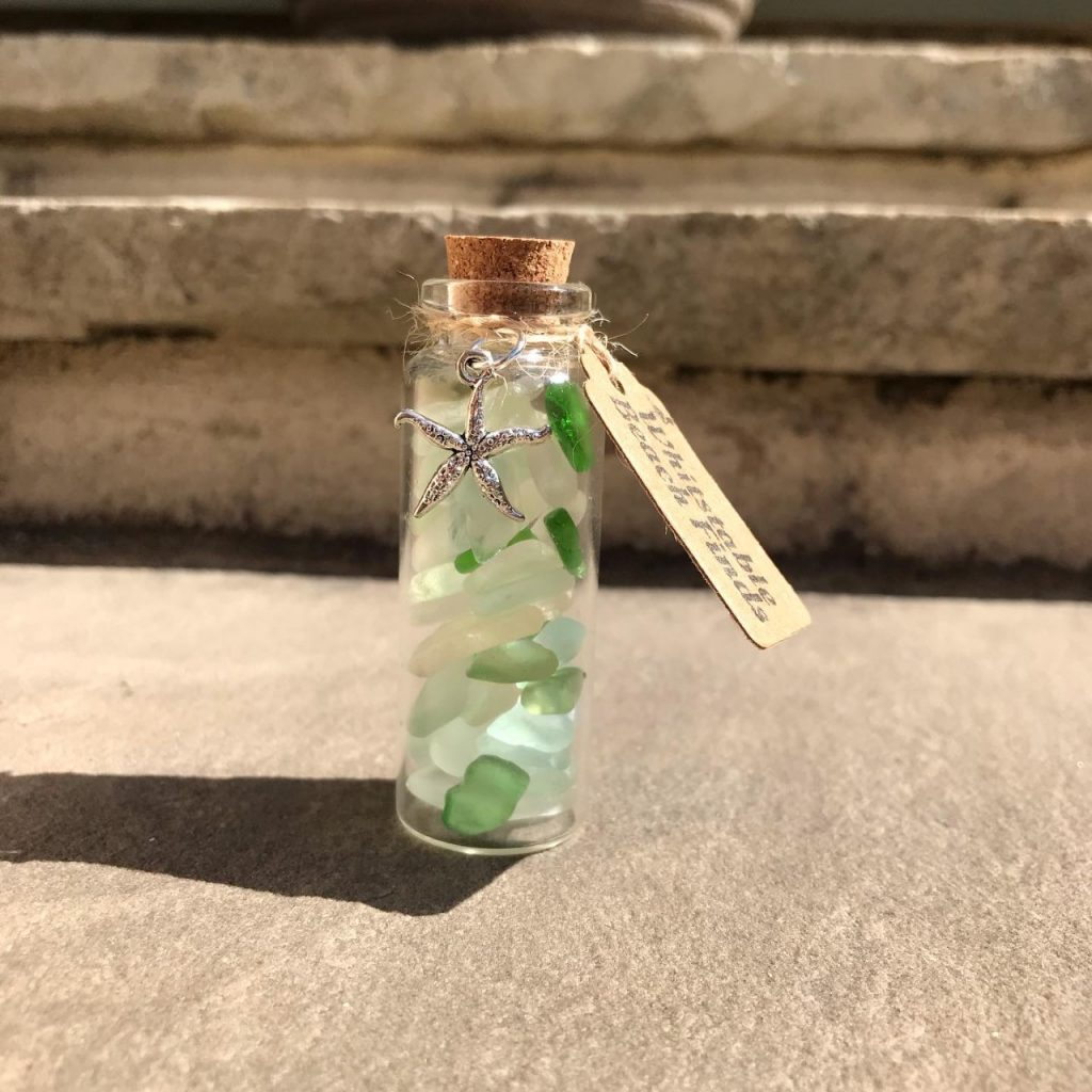 bottle of seaglass